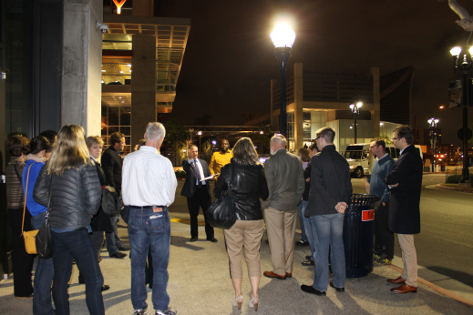 Lighting Up The Night With Friends Of Smart Street Lights. CTSD2014    Cleantech San Diego ...