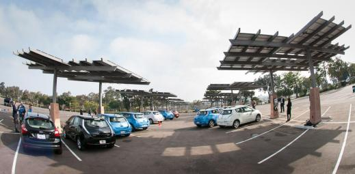 Use Of Solar Ed Electric Vehicle Charging Stations At San Go Zoo On The Rise