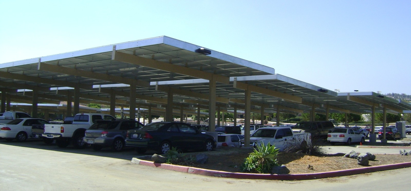 Solar Parking Canopies Exceed Savings Projections At San